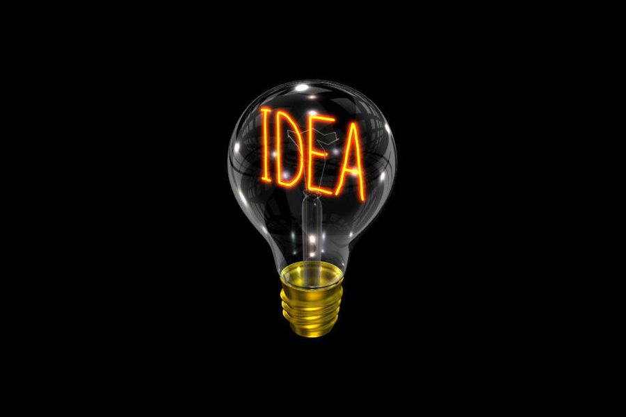 Your Ideas Go A Long Way