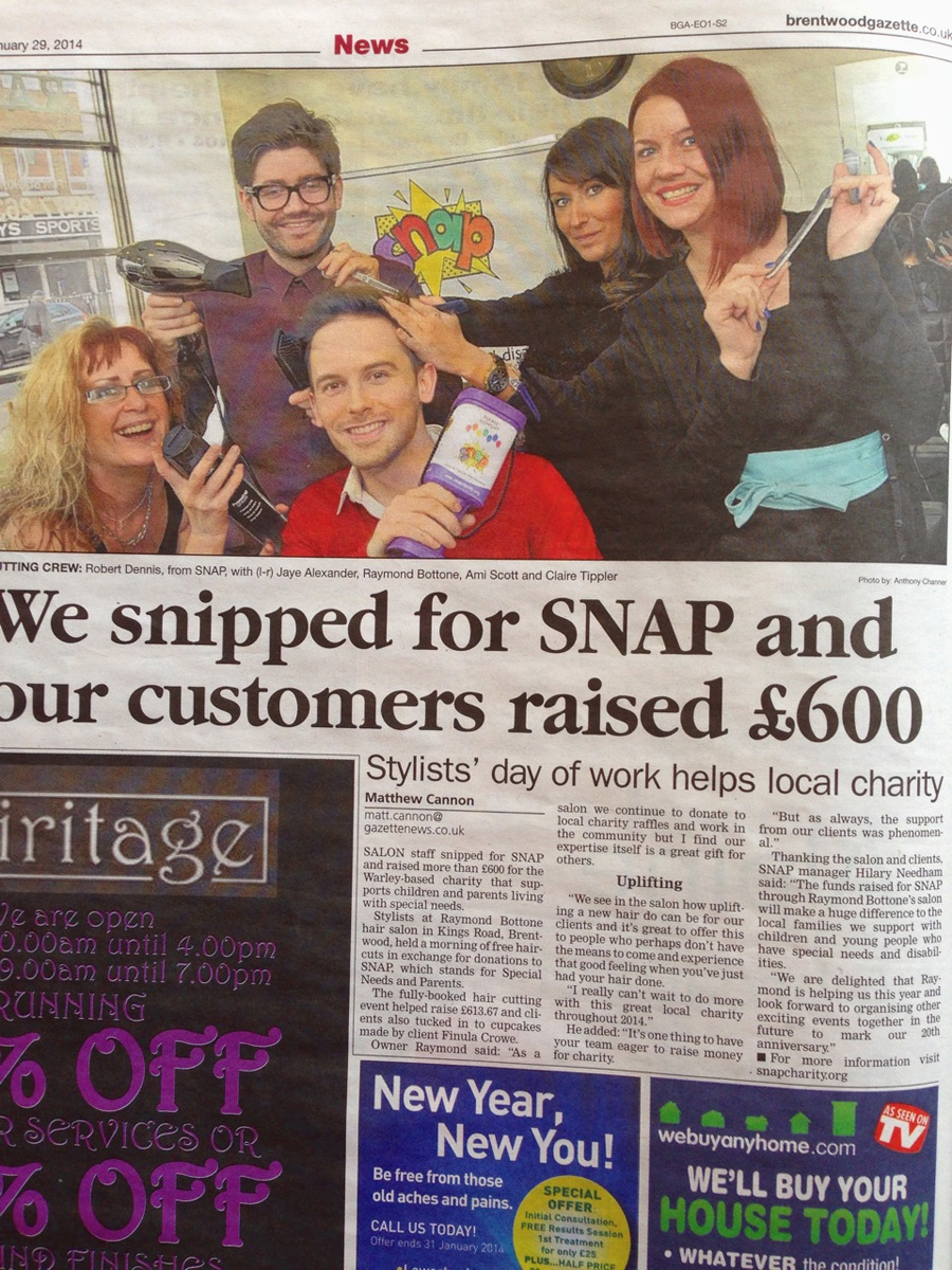 Our Charity Morning For SNAP