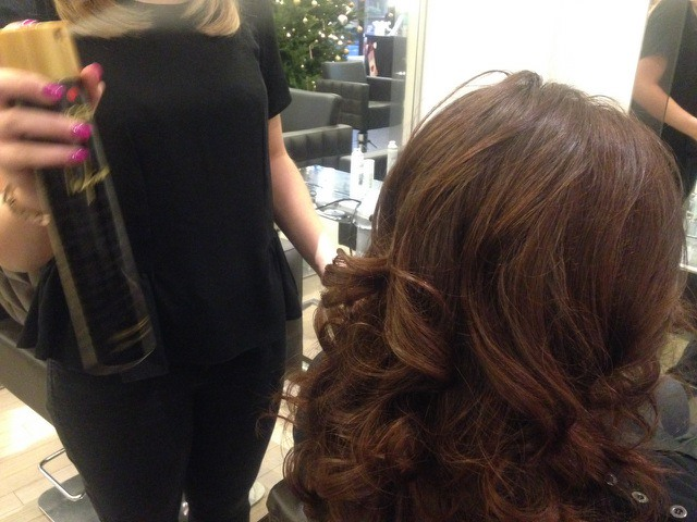 Christmas Party Curls: Step-by-Step