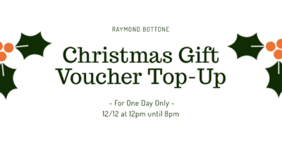 Christmas Gift Voucher Top Up